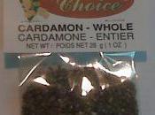 Alerte alimentaire Extension Salmonella dans graines cardamome Canada