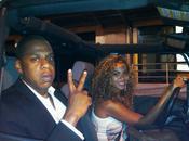 Beyoncé conduit jeep dans York