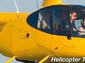 Hélicoptère dessus Venise
