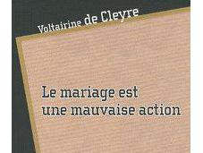 mariage mauvaise action **/Voltairine Cleyre