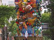 Hakata Gion Yamakasa Fukuoka Juillet
