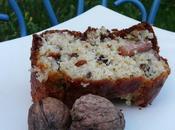 Cake noix, roquefort lardons fumés