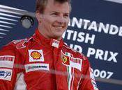 Kimi Raikkonen essayera pneus Pirelli