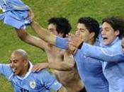 Quarts finale entre l'Uruguay Ghana, Celeste qualifiée grâce séance tirs