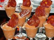 verrines crème poivrons rouges