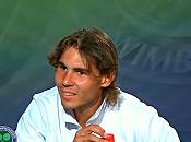 Wimbledon 2010 Vidéo Interview Rafael Nadal (02/07/2010)