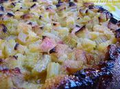 Gâteau rhubarbe