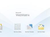 Microsoft WebMatrix, création sites simplifiée