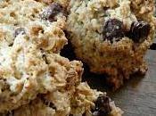 Cookies flocons d'avoine pépites chocolat
