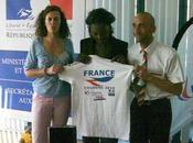 premières photos: Rama Yade délégation française gaygames 2010!