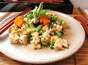 Poulet grille basilic thaï