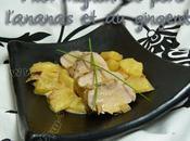 Filet mignon l'ananas gingembre