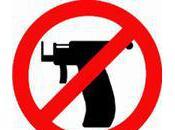 Piercing pistolet arrêtez massacre