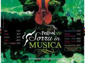 Sorru Musica 2010 partir samedi jusqu'au Juillet programme