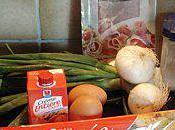 mange quoi demain? tarte oignons nouveau jambon Parme