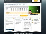 Nouveau design pour site crédits immobiliers Meilleurstaux.com
