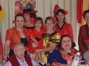 résidents l'EHPAD découverte culture Espagnole