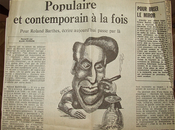 Roland Barthes populaire contemporain