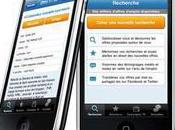 Cadremploi lance application iPhone...