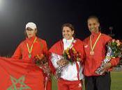 Athlétisme Lætitia Berthier-Four médaillée d'argent championnats d'Afrique