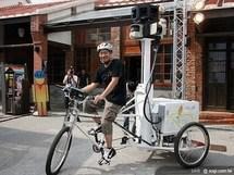 Google Street View version tricycle