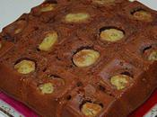 Gâteau léger chocolat lait banane