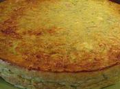 Clafoutis courgettes féta parmesan