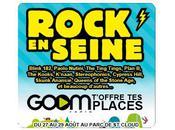 Jeu. Goom Radio PlanetePeople vous offrent places pour festival Rock Seine 2010