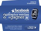 Timefy Facebook Phosphor Watches gagner
