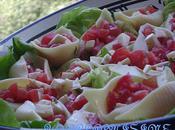 Salade caprese revisitee... sans mozza-sans basilic!