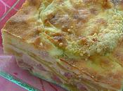 Clafoutis courgettes lardons