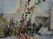 passant Djerba aquarelle menzel