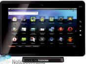 Folio 100, tablette tactile Android Toshiba boosté Processeur Tegra Nvidia