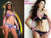 Malika Menard bikini Merci Photoshop