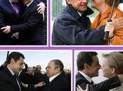 Nicolas Sarkozy câlins accolades.