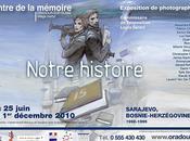 """Exposition """"Notre histoire. Sarajevo Bosnie-Herzégovine. 1992-1995"""""""