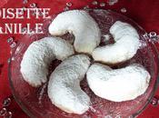 Croissants lune vanille noisette délicieux sablés ultra fondants pour Rosh Hashana
