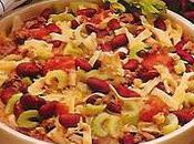 Salade boeuf tagliatelles