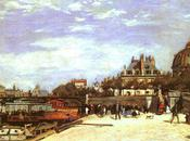 Paris peintres pont Arts d'Auguste Renoir