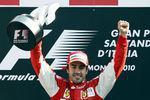 Ferrari Alonso remportent Monza 2010