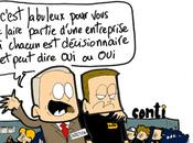 Continental, Toulouse, lâcher acquis sociaux fermer l'usine labeur fusil