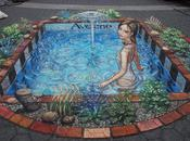SIMPLE Julian Beever, pavement Picasso