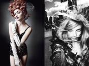 Anna, Freja, Sasha Carmen Uptown Down Mario Testino pour Magazine