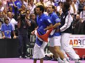 Coupe Davis 2010 L'équipe France tennis affrontera Serbie finale