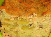 Terrine pois-chiche concombre saumon