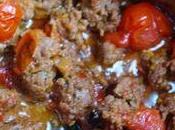 Spaghetti poivrons grilles tomates cerises...