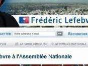 Frédéric Lefebvre corrige biographie site internet