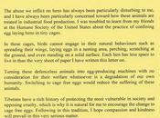 Dalaï Lama s'exprime contre l'élevage poules cage