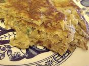 Frittata radicchoi omelette endives)