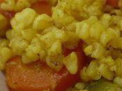 Boulgour curry légumes